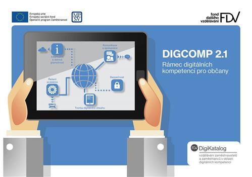 DigComp v češtině - máme pro vás překlad jednotlivých digitálních kompetencí.