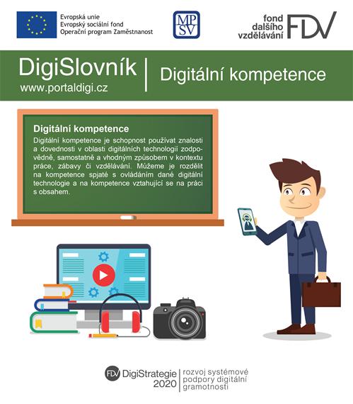 DigiSlovník: Co jsou to digitální kompetence?