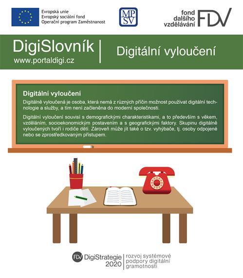 DigiSlovník: Digitální vyloučení