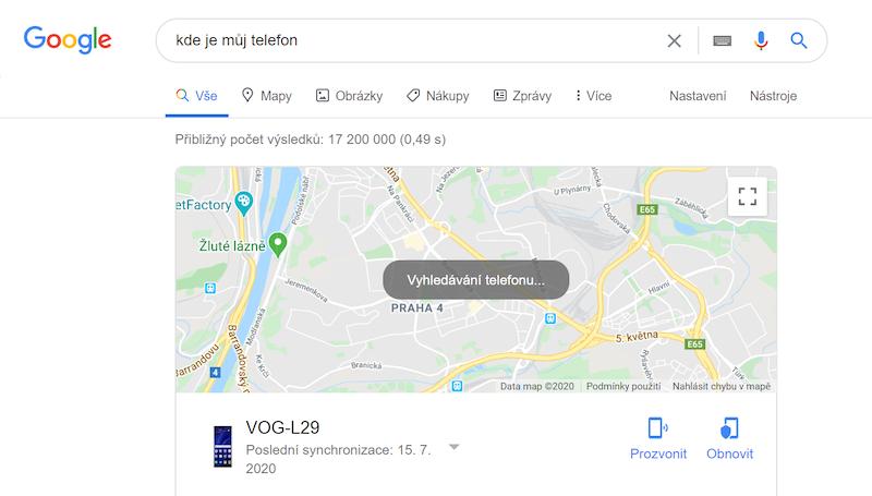 Najdi moje zařízení
