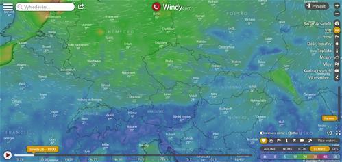 Kam za přesnou předpovědí počasí?