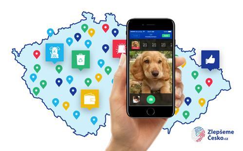 Aplikace Zlepšeme Česko pomáhá lidem řešit problémy z jejich okolí