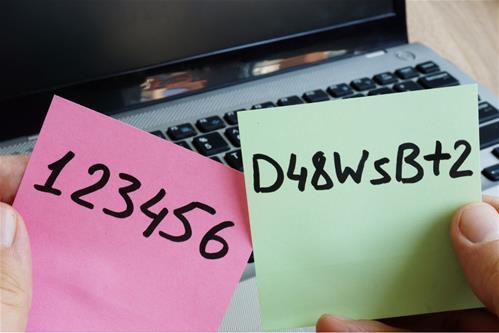 Vytvořte si bezpečné heslo! Lehce zapamatovatelné pro vás, těžce pro ostatní