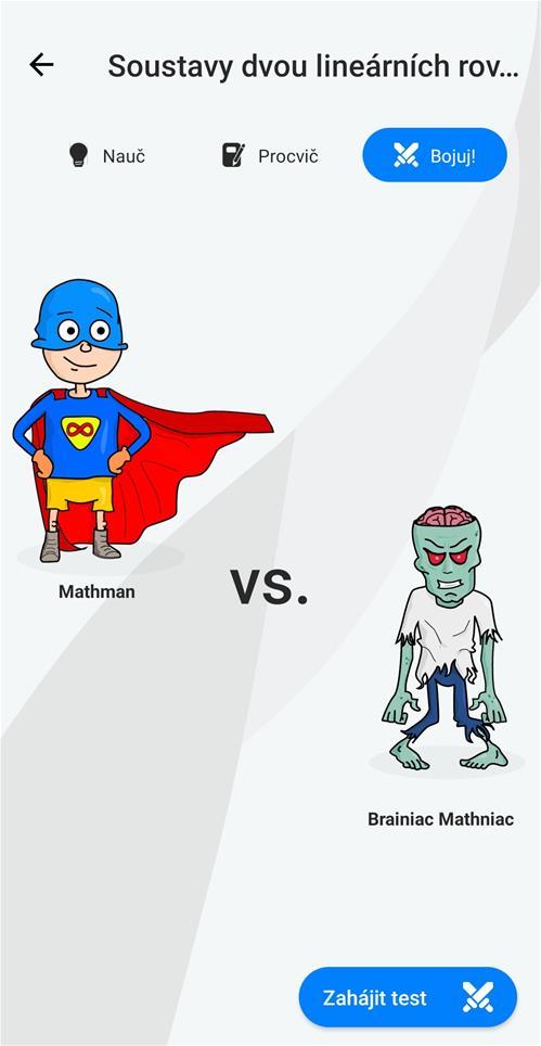 MATHMAN – aplikace pro výuku matematiky zábavnou formou