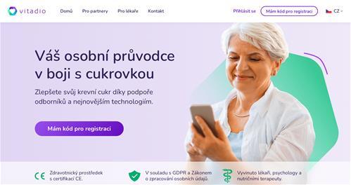 Český startup VITADIO pomáhá v boji proti cukrovce
